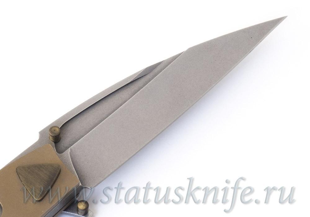 Нож Candiru Bronze Ломаченков Николай - фотография