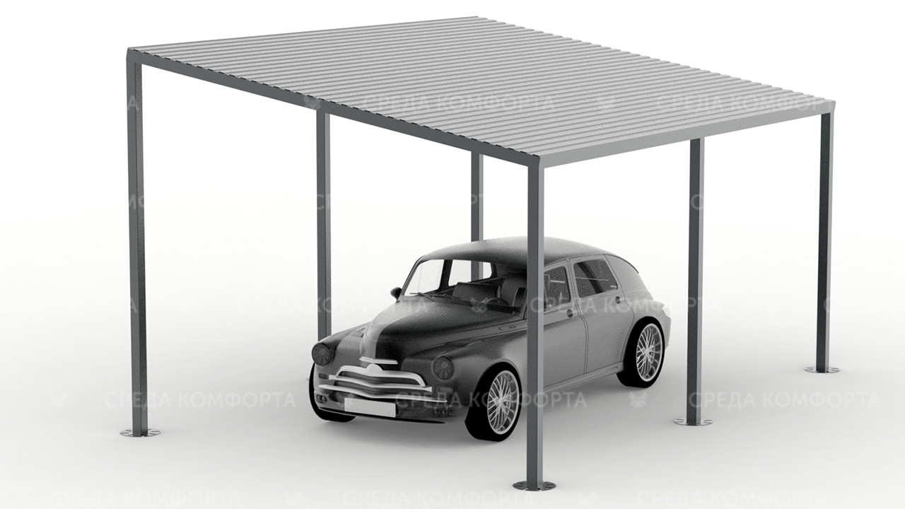 Навес для автомобиля AVNVS0015