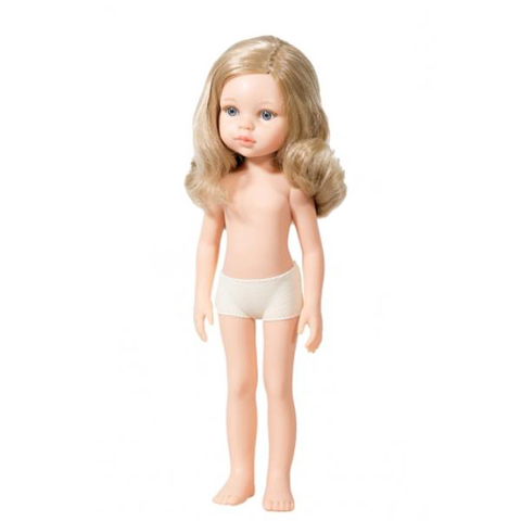 Кукла Карла с серыми глазками, 32 см, Паола Рейна