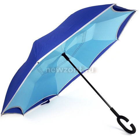 Антизонт голубой с синим и светоотражающей каймой п/авт (откр)