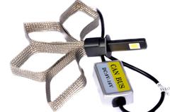 LED лампы головного света C-3 H1, (гибкий кулер) комп.