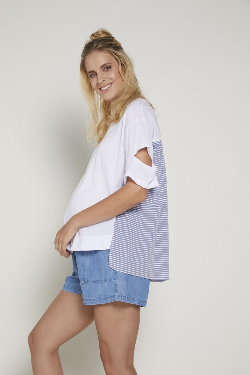 Блузка для беременных 09353 белый