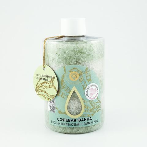 Соль морская Восстанавливающая с ламинарией | Мануфактура Дом Природы
