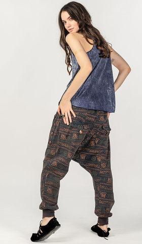 Этнические хлопковые штаны Майя