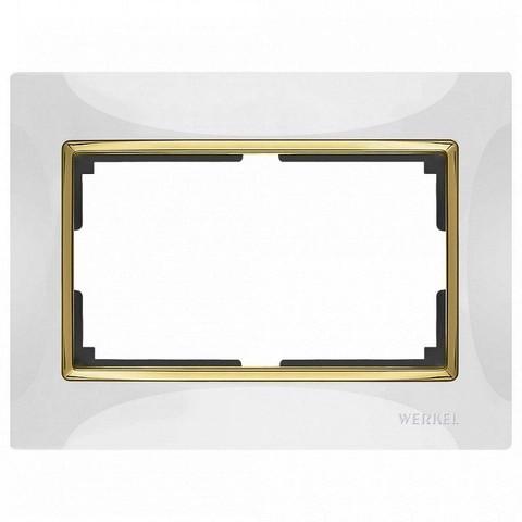Werkel Рамка WL03-Frame-01-DBL белый GD
