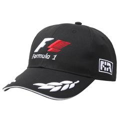 Кепка формула 1 черная (Бейсболка FORMULA 1)