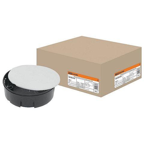 Коробка монтажная У192 СП D102х30мм крышка TDM