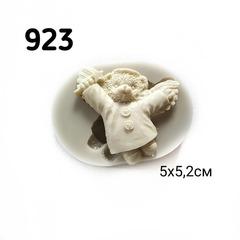 0923 Молд силиконовый. Мишка - ангел