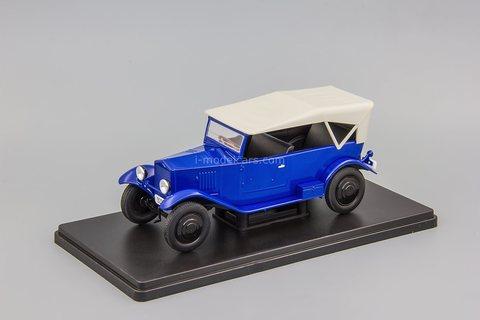 NAMI-1 blue 1:24 Legendary Soviet cars Hachette #70