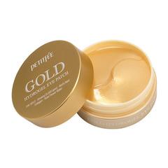 Petitfee Патчи гидрогелевые для глаз с золотым комплексом - +5Gold hydrogel eye patch, 60шт