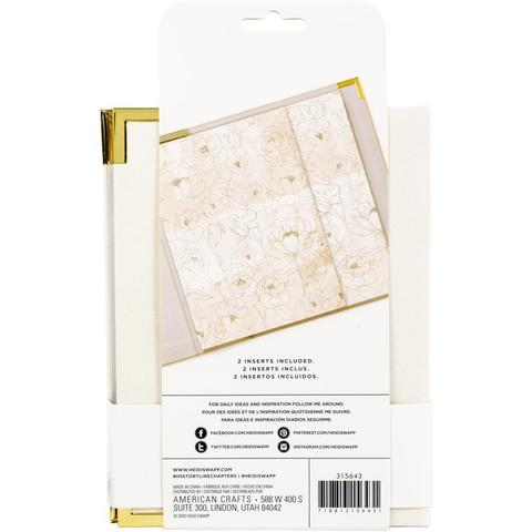 Альбом для хранения воспоминаний- Heidi Swapp Storyline Chapters Album Kit 15 X20 см - Cream