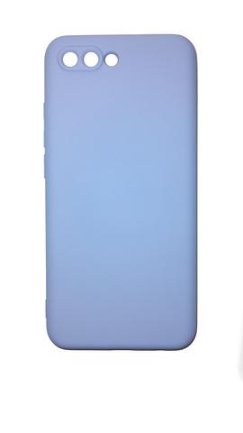Чехол для Huawei Honor 10 Софт тач мягкий эффект | микрофибра светло-фиолетовый