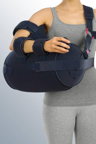 Повязки дезо (фиксирующие) для рук после травм Шина medi SAK для плечевого сустава отводящая подкачиваемая / угол от 10° до 60° medi_SAK.jpg