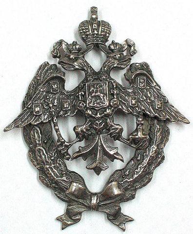 Знак офицерской общевойсковой школы Российской Империи