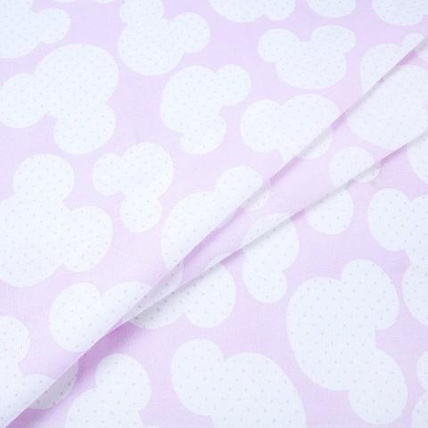 Бязь плательная 150 см 1717/2 цвет розовый