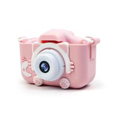 Детский фотоаппарат SmileZoom Fun Camera Котенок Kitti / Розовый