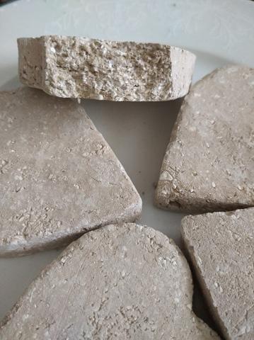 Сердце с глиной Узбекской (коричневой)