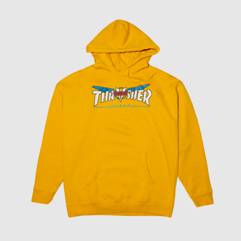 Толстовка THRASHER VENTURE COLLAB HOOD GOLD