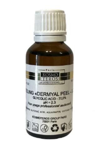 Гликолевый пилинг/ Peeling Chimique Glycolic Acid - 70% (pH - 2,3), Kosmoteros, 30 мл