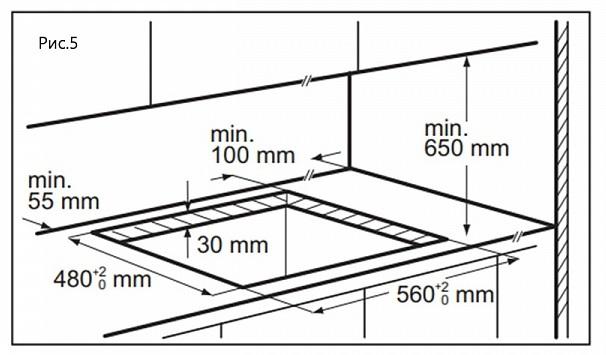 Комбинированная варочная панель Maunfeld EEHG.642VC.3CBKG