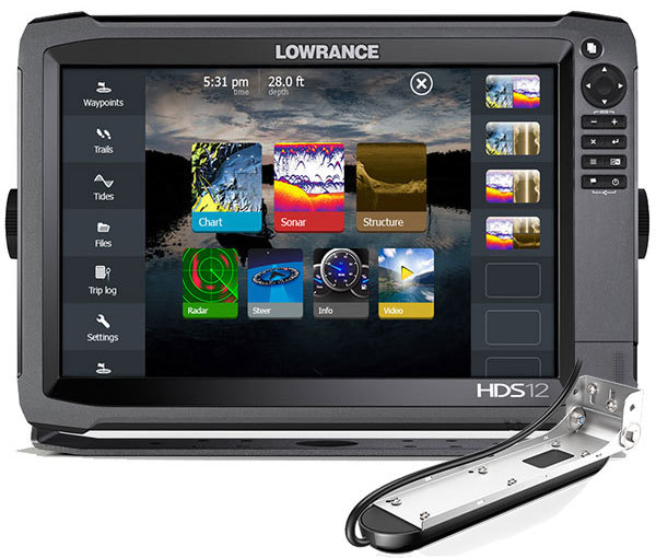Комплект Lowrance HDS-12 + TotalScan Skimmer