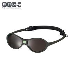 Очки солнцезащитные детские Ki ET LA Jokaki 1-2,5 лет. Strong Grey (темно-серый)