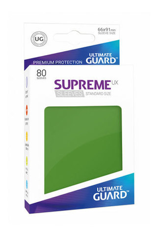 Supreme Sleeves Standard Size Green (UX)