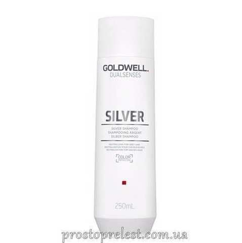 Goldwell Dualsenses Silver Shampoo - Коригуючий шампунь для сивого і світлого волосся