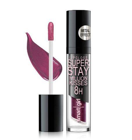 BelorDesign Smart Girl Супер стойкий блеск для губ Million kisses тон 215 винный металлик