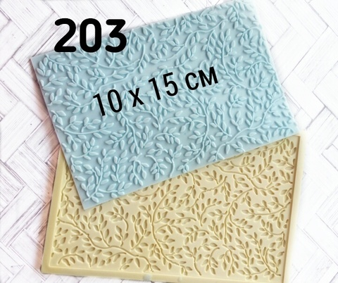 Молд коврик 10х15см, Арт.PO-0203, силикон