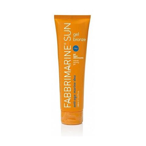 FABBRIMARINE |   Гель для активации загара с ДНК морских водорослей /  Soothing sun lotion, (150 мл)