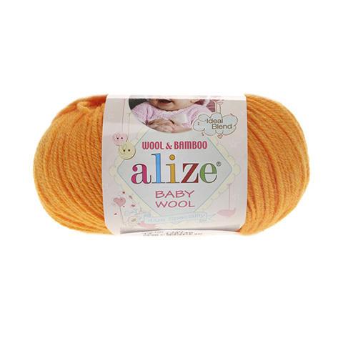 Baby Wool (40% шерсть, 20% бамбук, 40% акрил, 50гр/175м)