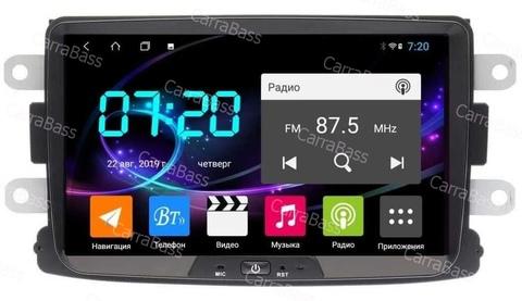 Магнитола Renault/Lada/Nissan Android 10 IPS DSP 4/64GB 4G модель CB2068T9