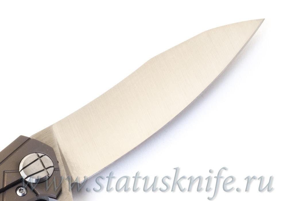 Нож Асимметричный Миди Bronze ASYMMETRIC Midi Limited - фотография
