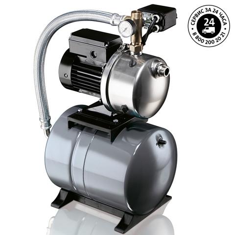Самовсасывающая насосная установка - Grundfos JPB 6 (бак 24 л)