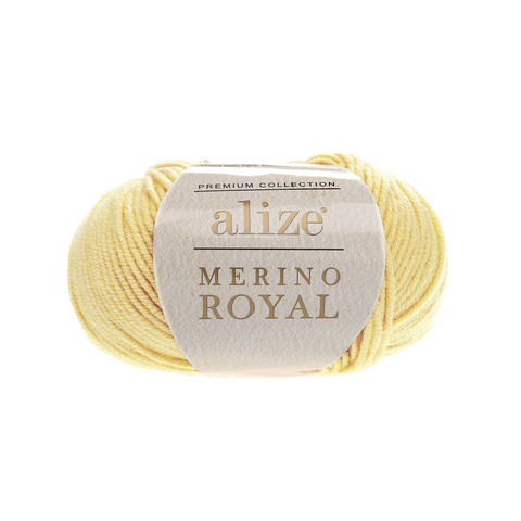 Alize Merino Royal лимон 187