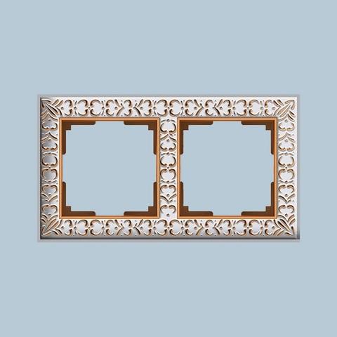 Werkel Рамка W0021523 (WL07-Frame-02) белое золото