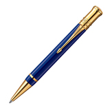 Parker Duofold K74 International Historical Colors Lapis Lazuli GT Mblack (1907186)