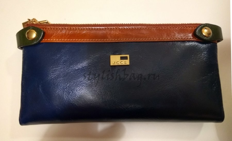 Купить женский кошелек JCCS из натуральной кожи j-1017 в интернет магазине Stylishbag
