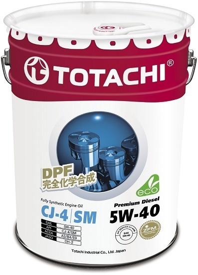 Premium Diesel 5W-40 TOTACHI масло дизельное моторное синтетическое (60 Литров)