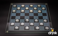 Шахматы со стопками, шашки, карты, фото 2
