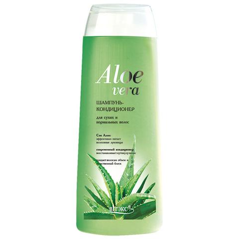 Шампунь – кондиционер для сухих и нормальных волос , 500 мл ( Алоэ Вера )