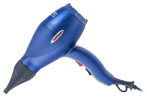 Фен Gamma Piu E-T-C Light, 2100 Вт, 2 насадки, синий матовый