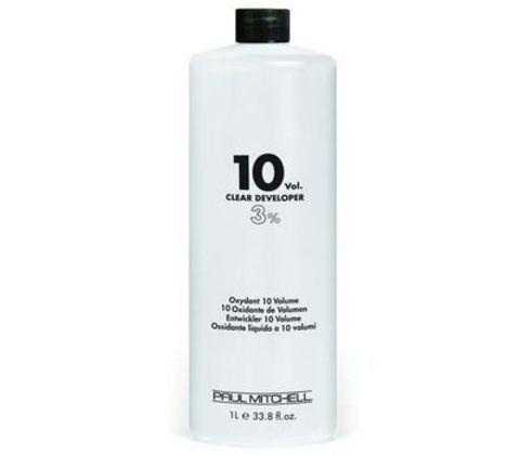 Paul Mitchell COLOR Clear Developer  10vol  Жидкий окислитель-проявитель  3% 1л