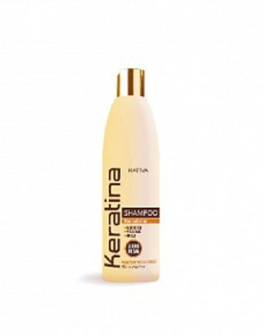 Кератиновый укрепляющий шампунь для всех типов волос KERATINA, 250 мл., Kativa