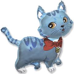 F Мини-фигура, Милый котенок (голубой), 14