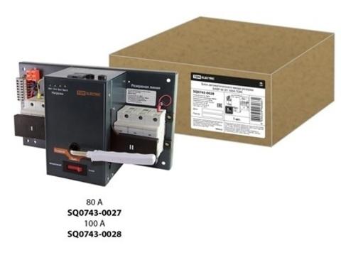 Блок автоматического ввода резерва БАВР-М 3П 80А TDM