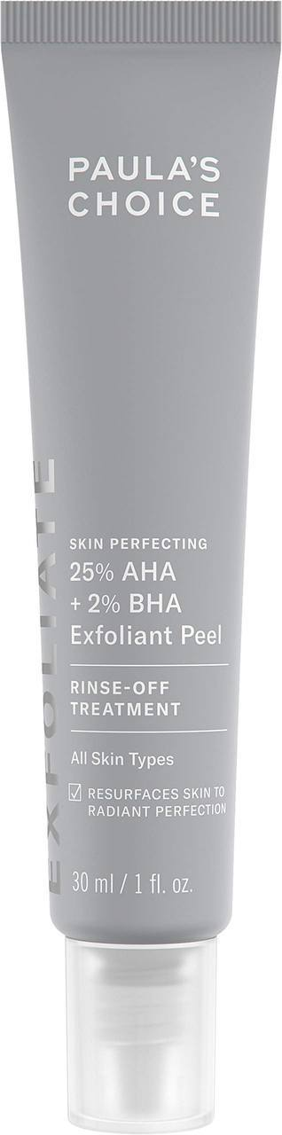 Пилинг Paula's Choice 25% AHA + 2% BHA Exfoliant Peel Rinse-Off Treatment 30 мл