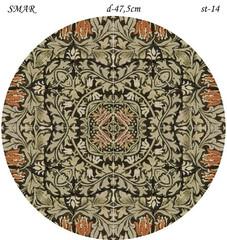 Эскиз для росписи, Круг диаметр-47,5см, SMAR-st-14