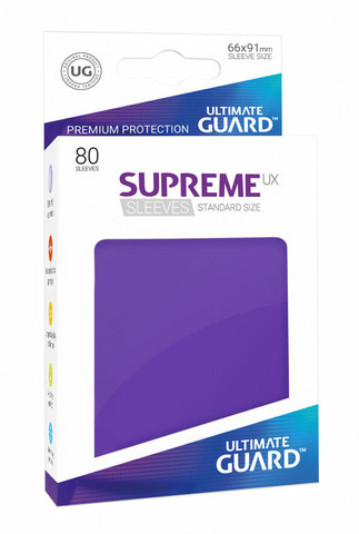 Supreme Sleeves Standard Size Purple (UX)